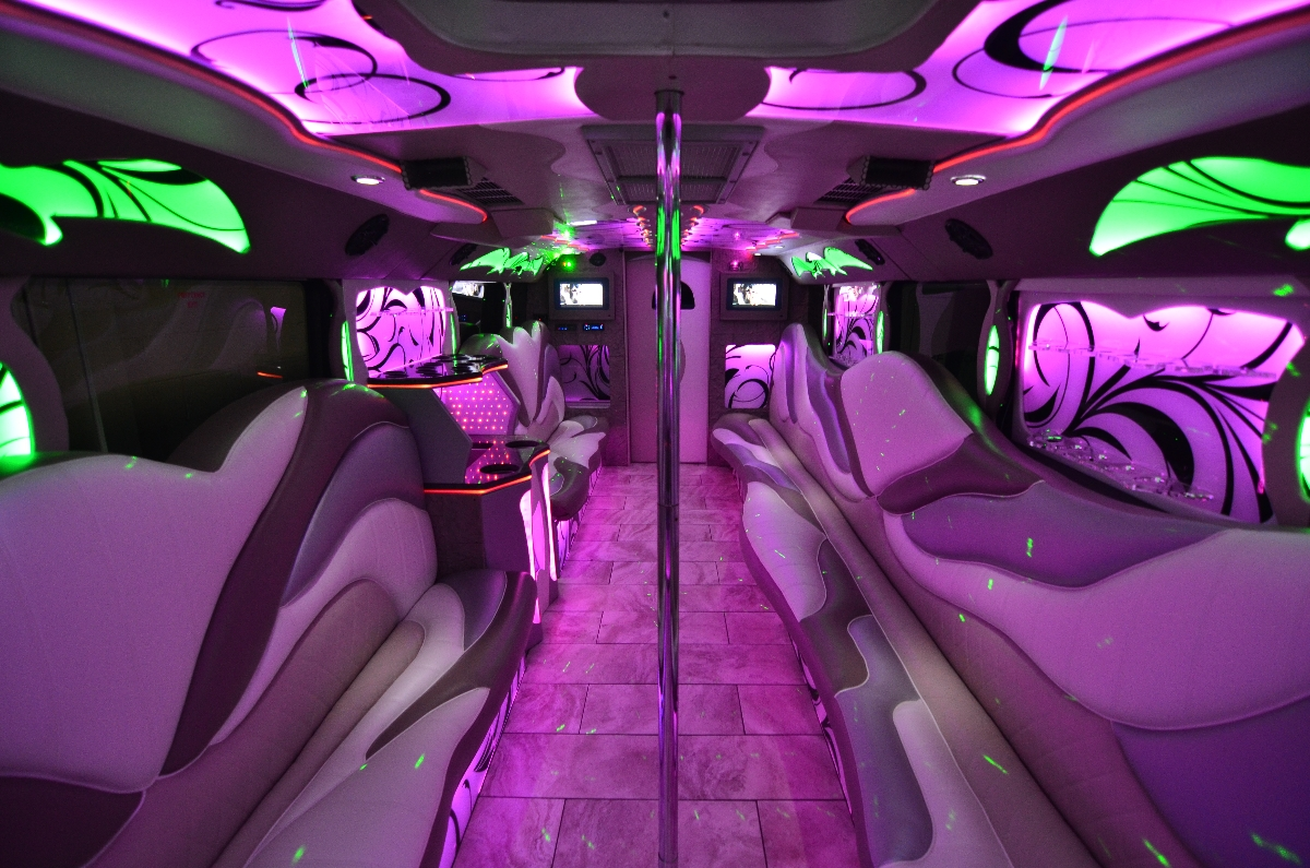 The Titanium Edition Party Bus Limousine 9